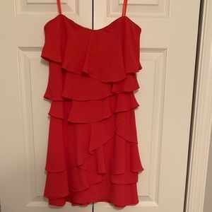 BCBG strapless dress